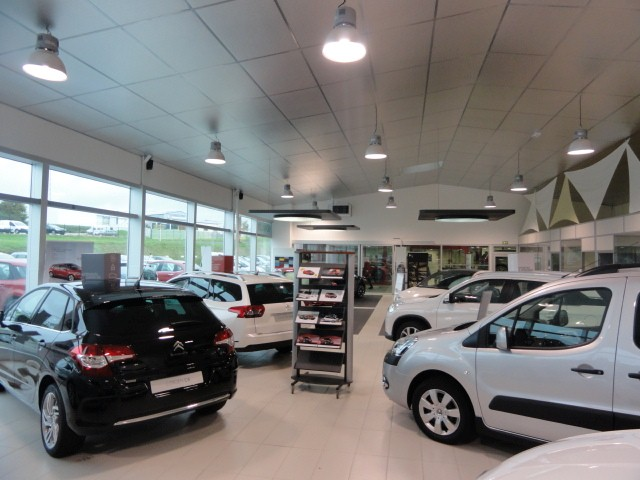 Citroen ch teaulin votreautofacile for Garage citroen bourg de peage