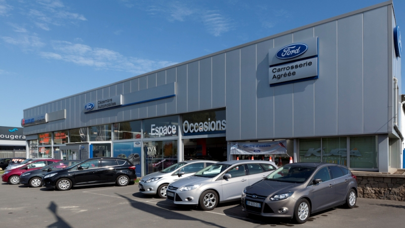 Ford saint malo votreautofacile for Garage volkswagen rennes occasion
