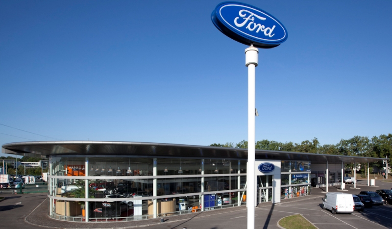 Ford saint herblain votreautofacile for Location garage saint herblain