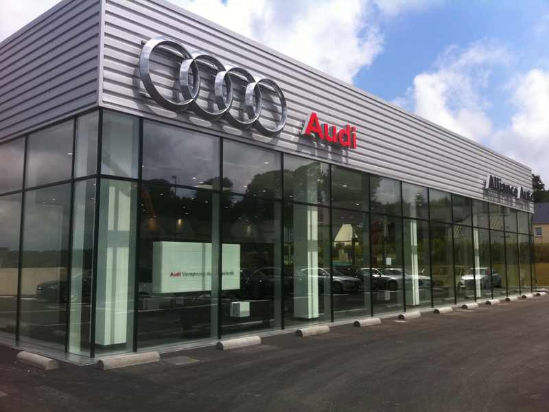 Audi volkswagen lannion votreautofacile for Garage audi hainaut